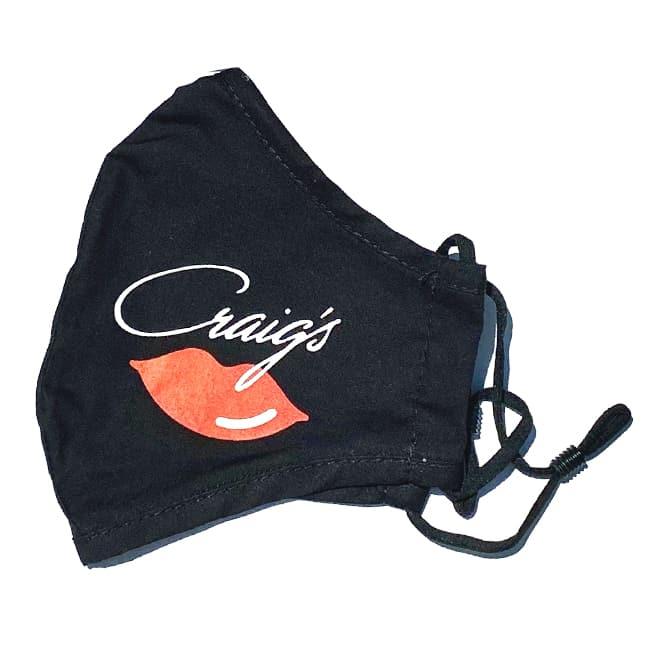 Craig's Lips Mask - Black